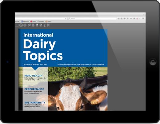 iPad showing flip book of magazine