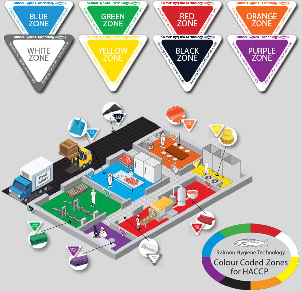 HBC2 on Color Coded Floor Plan