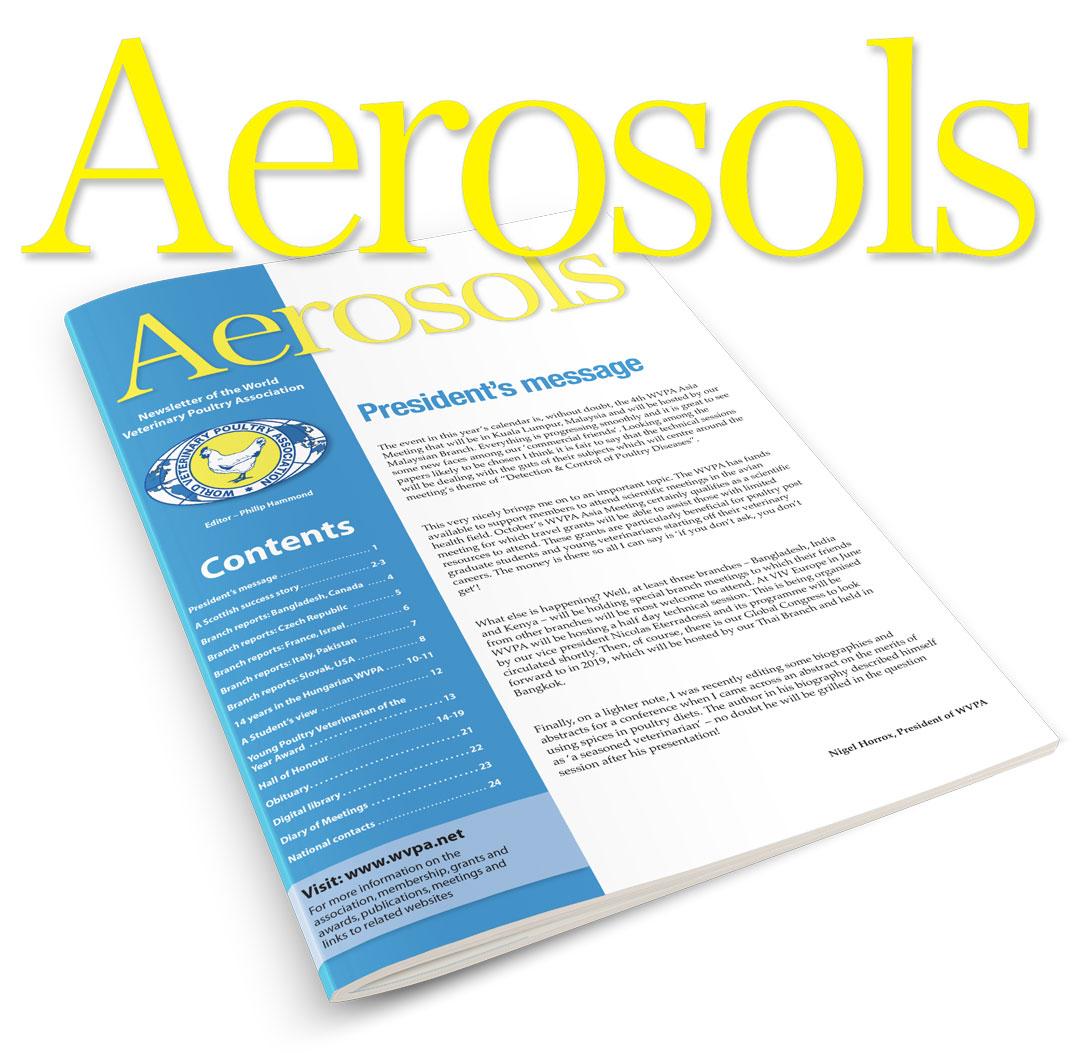 Aerosols cover and logo